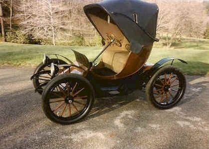 1912 Bailey Electric Victoria Phaeton