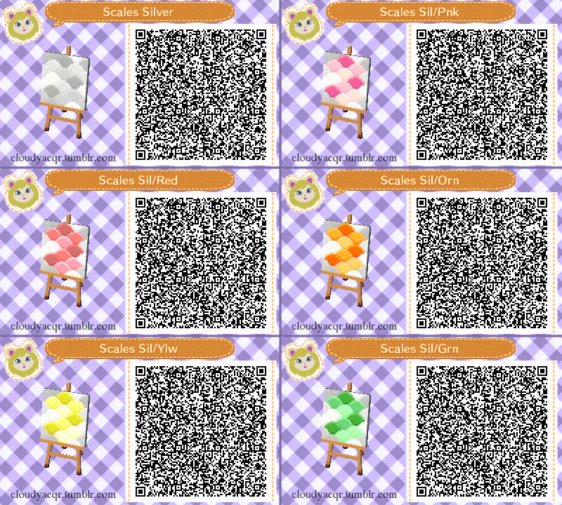 Animal Crossing New Leaf Hhd Qr Code Paths Cloudyacqr I
