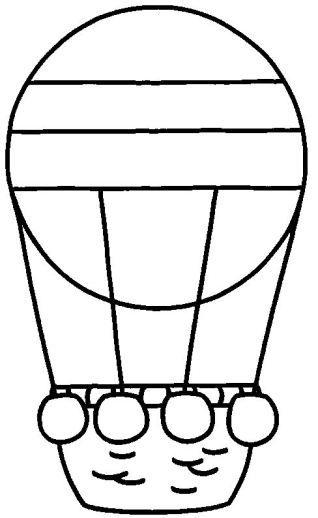 montgolfiere1.gif | Fichas pa fotocopiar e imprimir | Pinterest ...