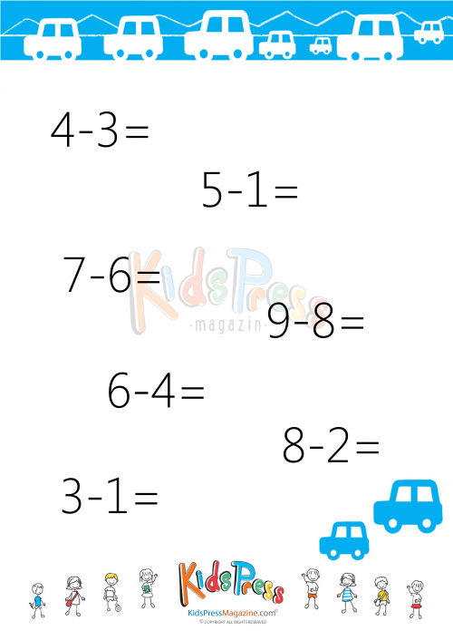 Easy Subtraction without Regrouping - #4 | Maths, Worksheets and ...