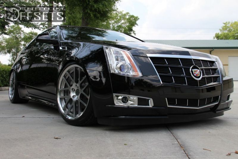 Custom Cadillac CTS   Cadillac Cts Coupe Nearly Flush Dropped