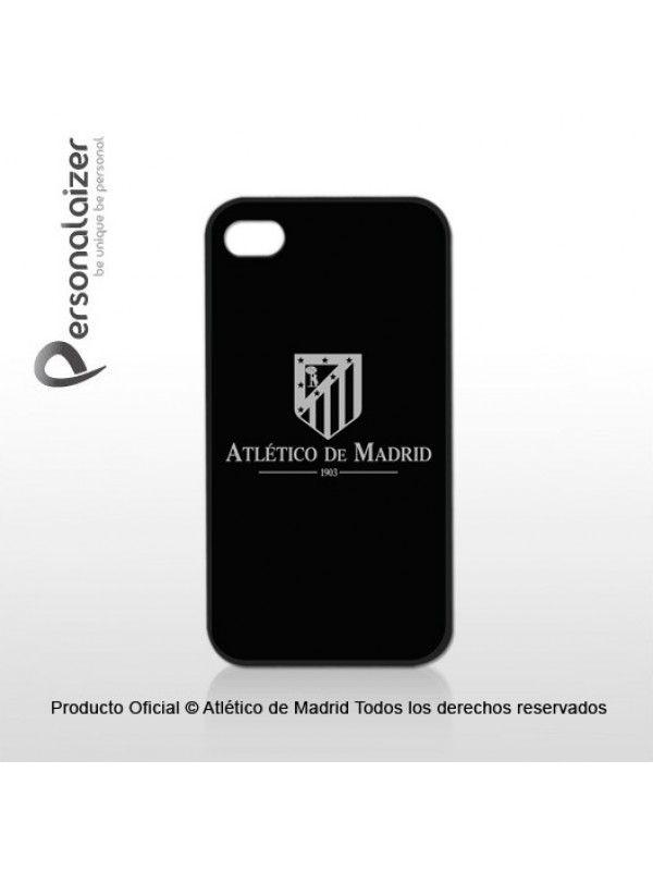 Funda Móvil 'Atlético de Madrid Escudo Plata'