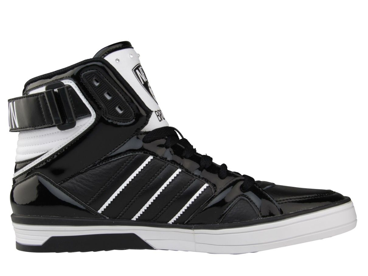 Adidas Brooklyn Nets Nba Edition Shoes Side Adidas Spacediver Brooklyn Nets Nba Top Sneakers High Top Sneakers Sneakers