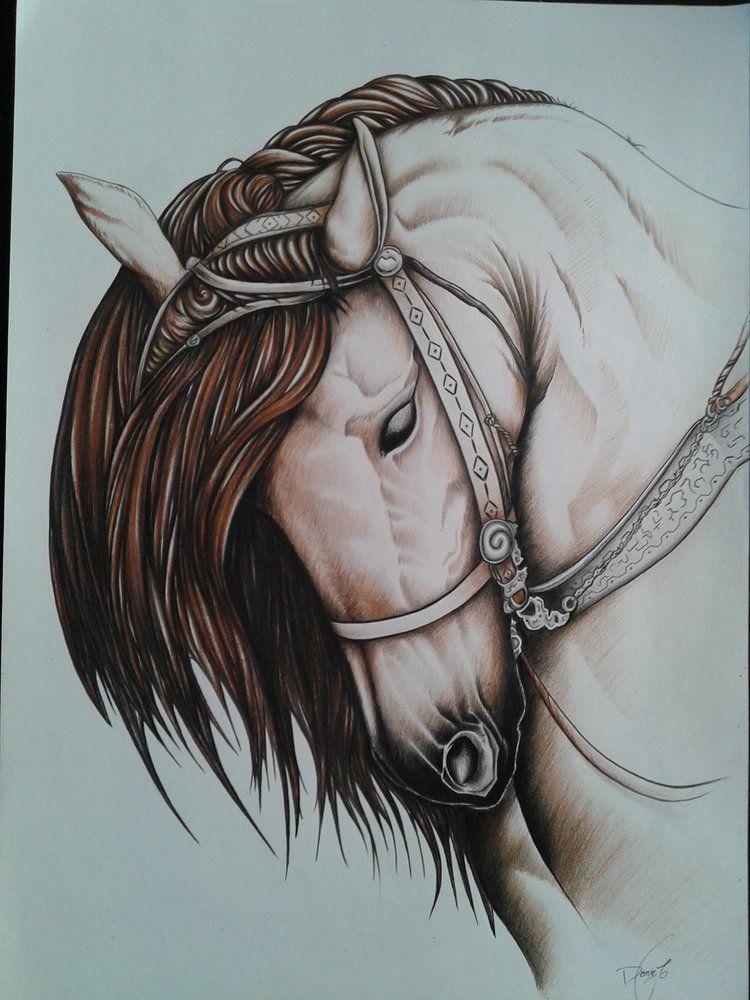 Horse Por Daniel23 Animales Dibujando Net Dibujo Lapiz Color Escultura De Leon Dibujos Hechos A Lapiz