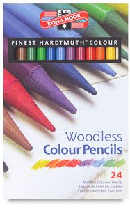 Kohinoor Progresso Woodless Colored Pencils Colored Pencils Koh