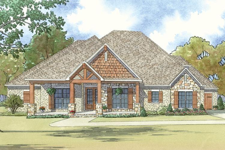 House Plan 8318 00040 Northwest Plan 2 410 Square Feet 4 Bedrooms 3 5 Bathrooms Craftsman House Craftsman Style House Plans Farmhouse Style House