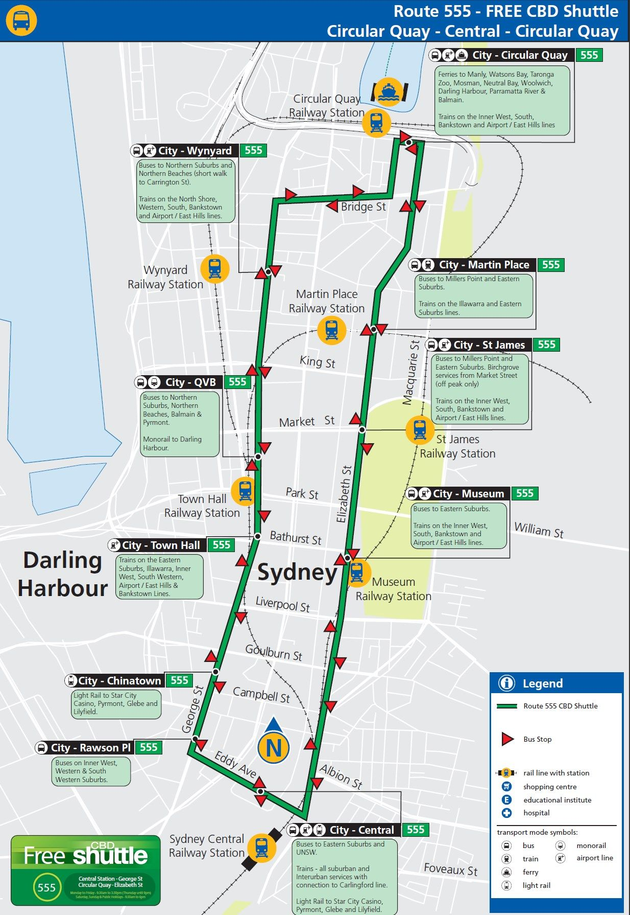 Free Bus 555 Map Sydney Australia Getaway with Kids Pinterest