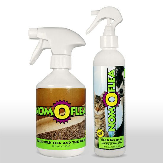 Nomoflea Flea Spray Bundle My Furry Friends Tick Spray Flea