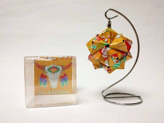Photo of ARIZONA MUCHO MANGO Getränkedose Origami-Ornament // Weihnachtsschmuck // Weihnachtsschmuck // wei