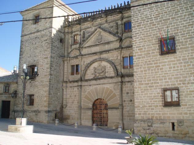 Casa De Las Torres Ubeda Jaén España Plateresco Casa Torres Andalucia España Castillos