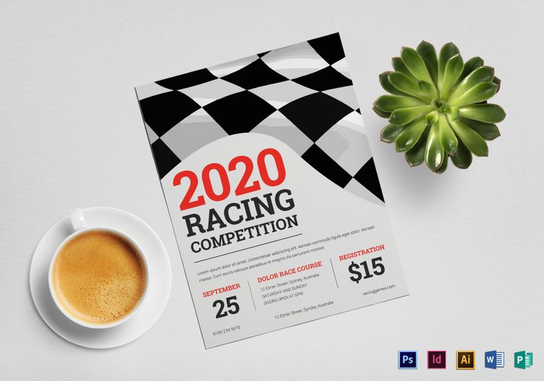 Flyer Samples Templates Car Racing Flyer  Design Flyer Templates  Pinterest  Flyer Design .