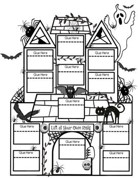 Interactive Notebook Haunted House ~ Perfect for Halloween