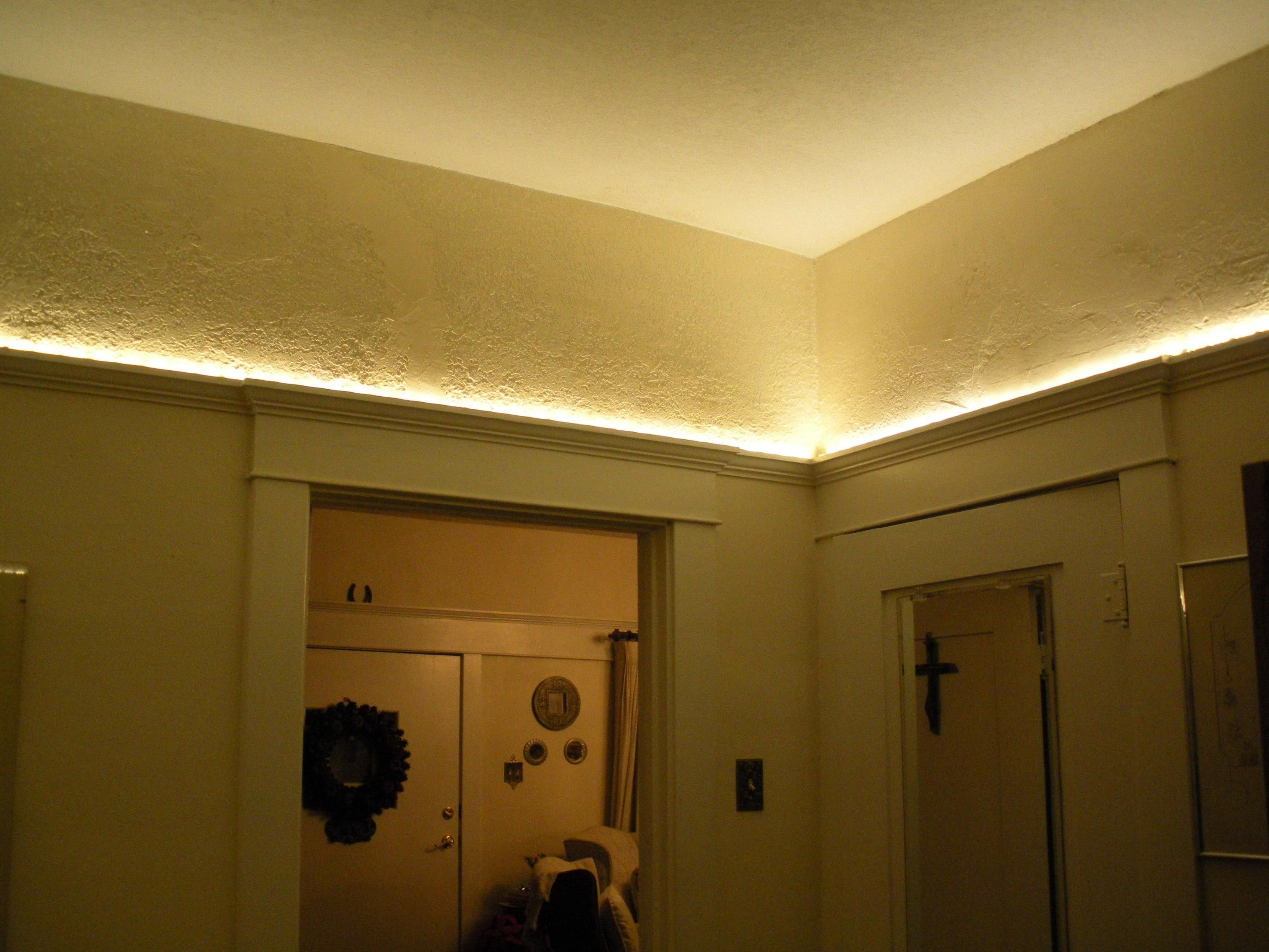 indirect lighting can be done on 1, 2, 3 or 4 walls. You never see ...