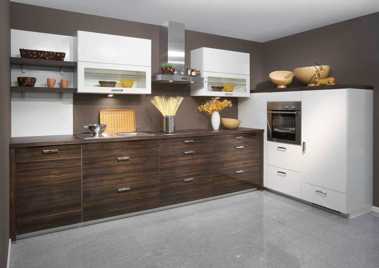 Uno white high gloss kitchen design interior exterior plan