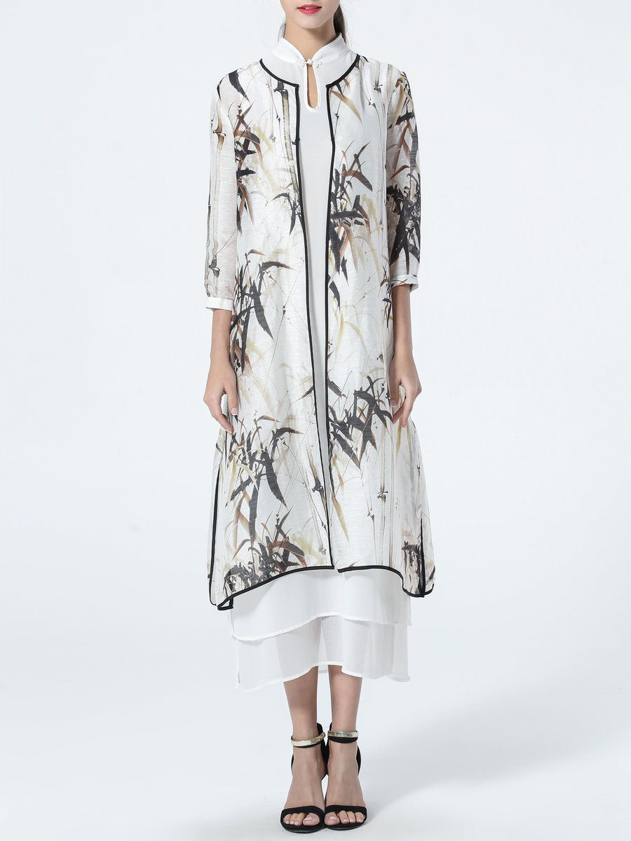 Adorewe stylewe maxi dresses taoyanshuo multicolor sleeve