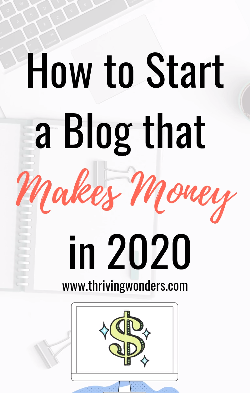 The Ultimate guide for how to start a blog in 2020. You may have seen all of the blog income reports that bloggers are posting. Some bloggers even make $100,000 a month. Whether you blog as a hobby, side hustle, or to make money from home full-time, these are the steps you should take to start a blog for beginners.  #startablog #howtostartablog #startablogforbeginners #bloggingtipsforbeginners