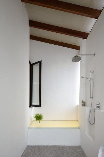 Malaysian Single Storey Terrace Simple White Bathroom Modern House Design Interior Design Photos House