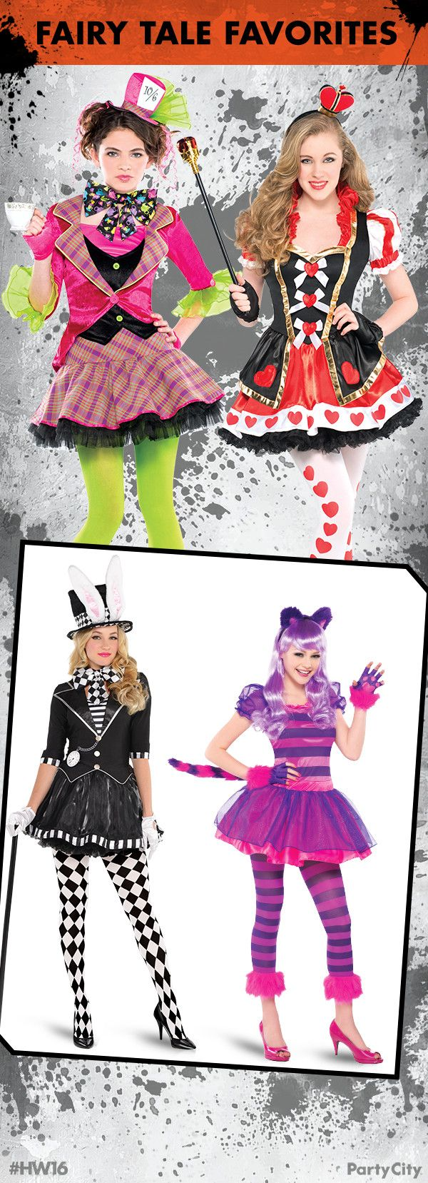 This Halloween, thrillerize your Fairy Tale costumes by