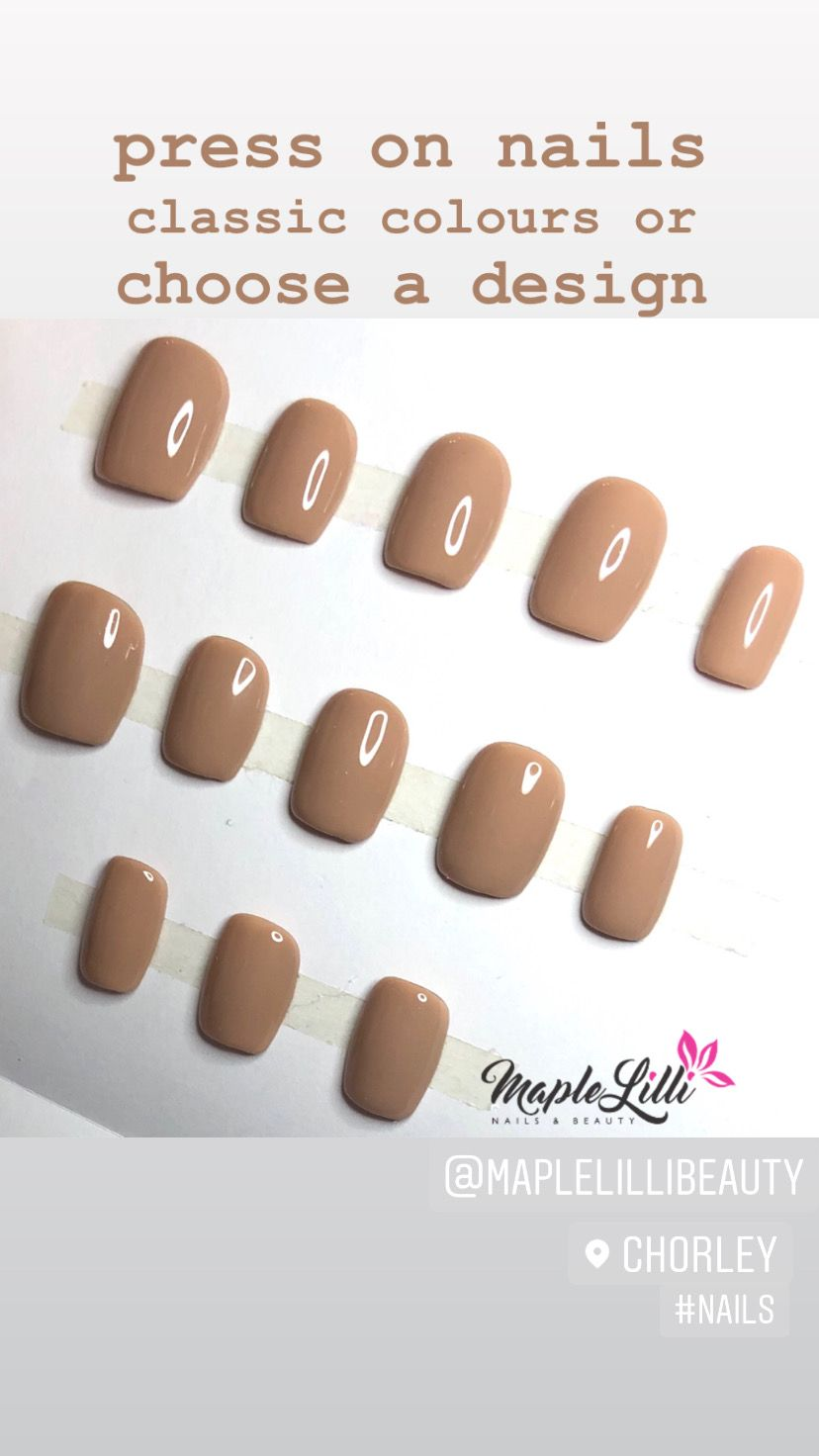 Maple Lilli Nails Beauty In 2020 Nails Popular Nails Press On Nails
