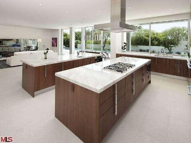 Modern Kitchen Design With 2 Islands Modern Architecture Modern