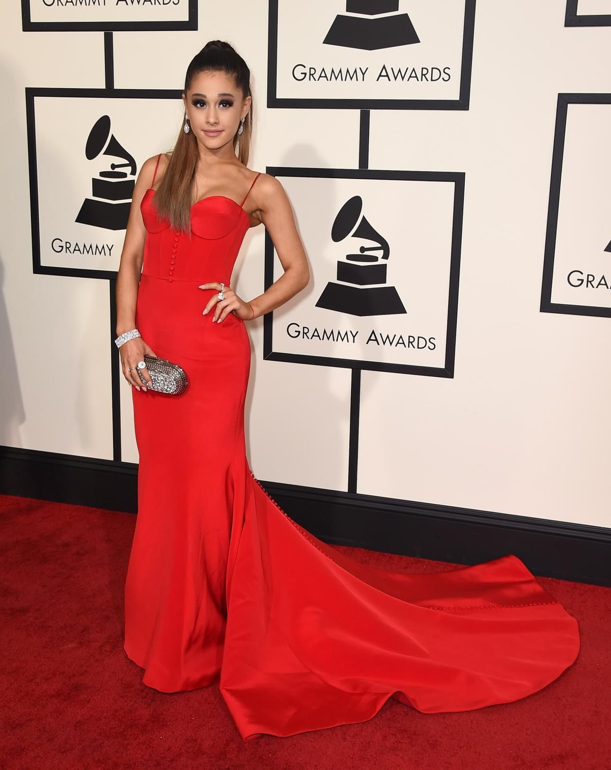Tappeto Rosso Grande Ariana Grande Photos Grammys 2016 Best And Worst Red Carpet