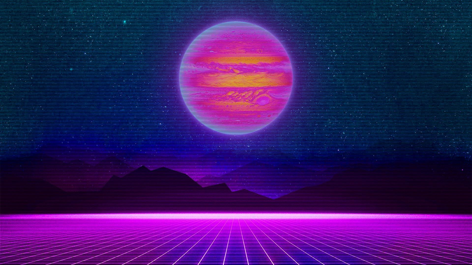 75 Synthwave Wallpapers On Wallpaperplay Synthwave Waves Wallpaper Glitch Wallpaper