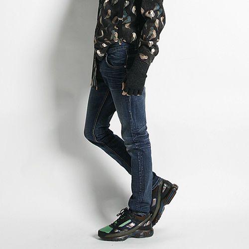 Remember Click Suspender Denim Jeans DENIM S M L Korean Wear #RememberClick #ClassicStraightLeg