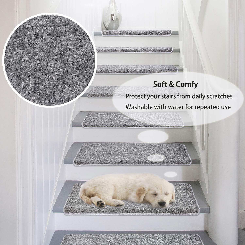 Best Amazon Com Pure Era Carpet Stair Treads Set Of 7 Non Slip 400 x 300