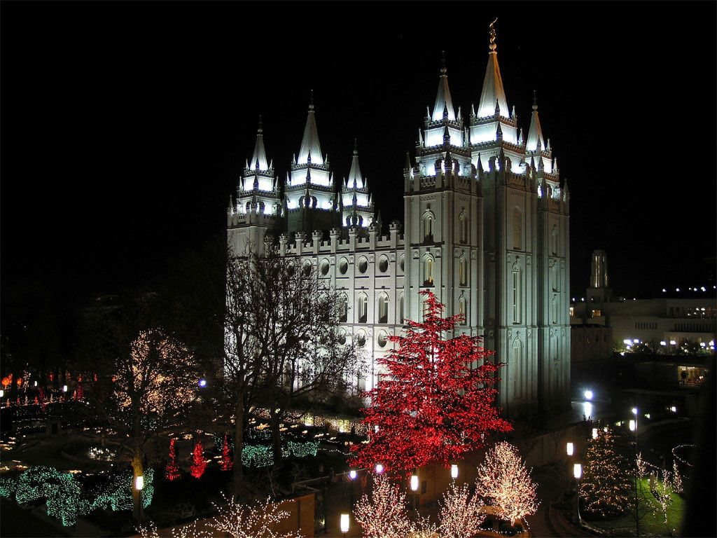 The Largest Mormon Temple In World