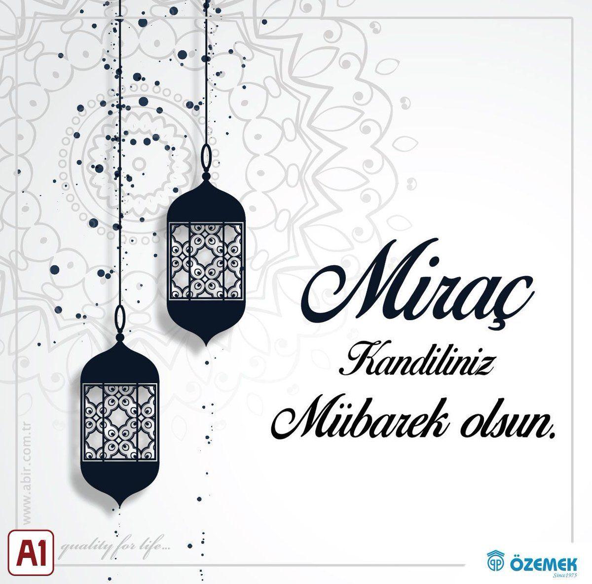 MiracKandili HayırlıKandiller Miraç Ramazan