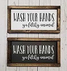 Farmhouse Bathroom Decor - The Ultimate List Of 60+ Affordable Farmhouse Bathroom Ideas #Affordable