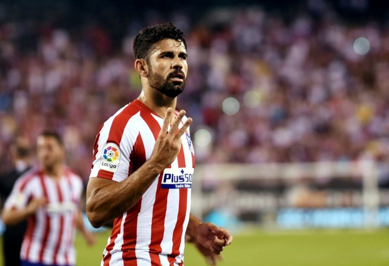 Atletico Humble Real Madrid 7 3 In Friendly New York Afp Diego Costa Scored Four Goals As Atletico Chelsea Star Liverpool Champions League Atlético Madrid