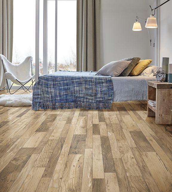 Multi Width Oak Rustic Flooring Heritage Plank Vinyl Flooring