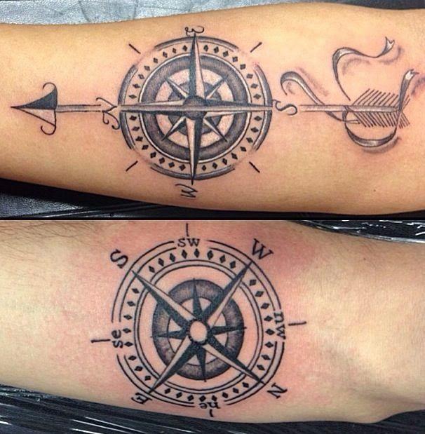 Tatuajes De Brújulas Tattoos Tattoos Compass Tattoo Compass