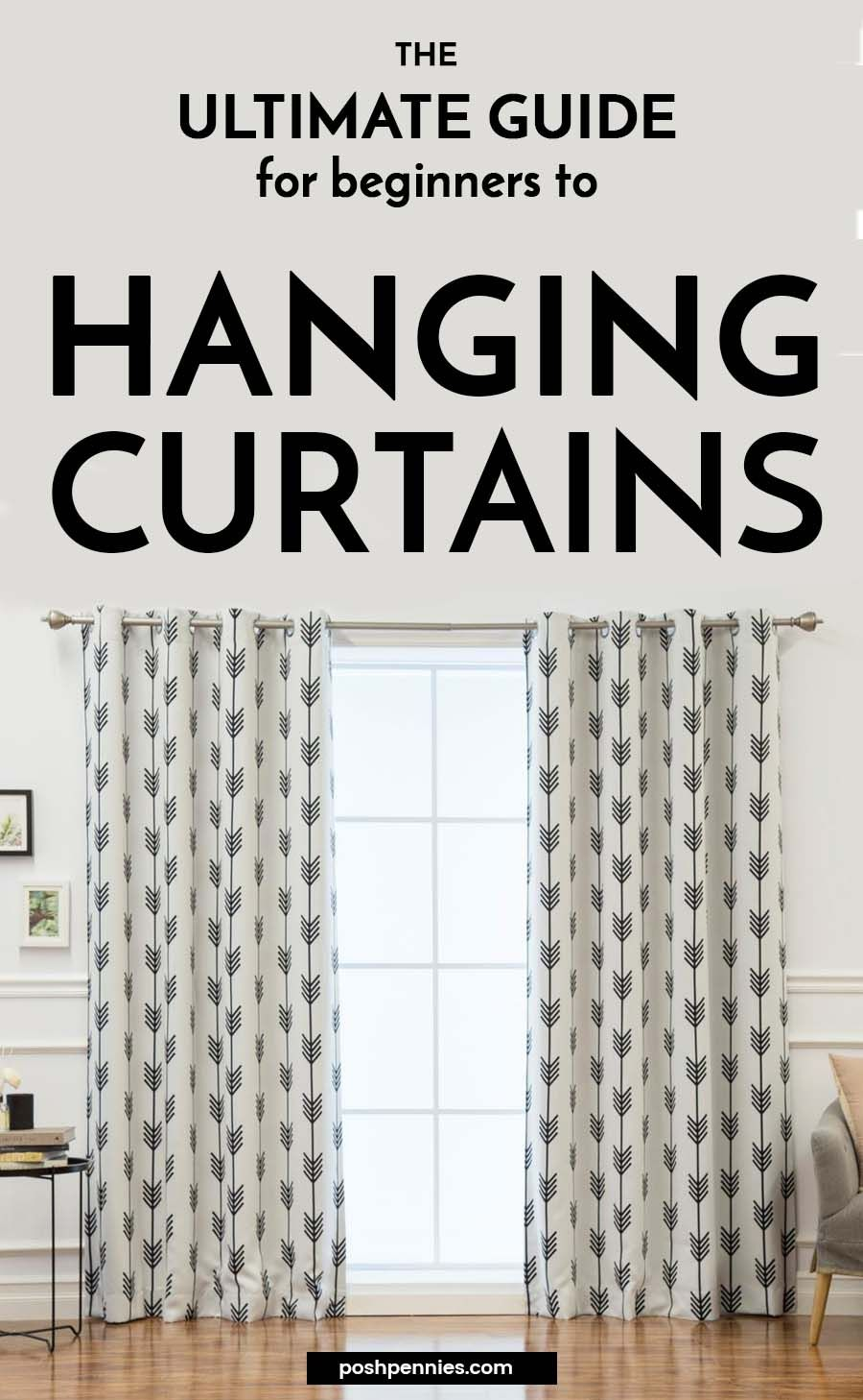 How To Hang Curtains Like An Interior Designer Home Decor Hanging Curtains Decor