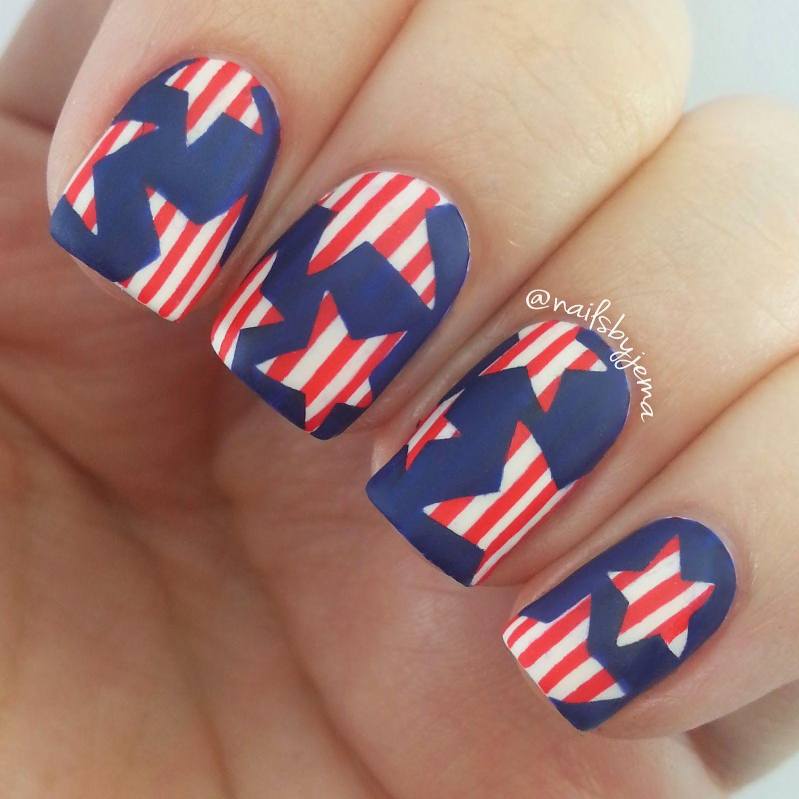 Nails By Jema: 4th Of July Nails | Nails | Pinterest | Nail art blog