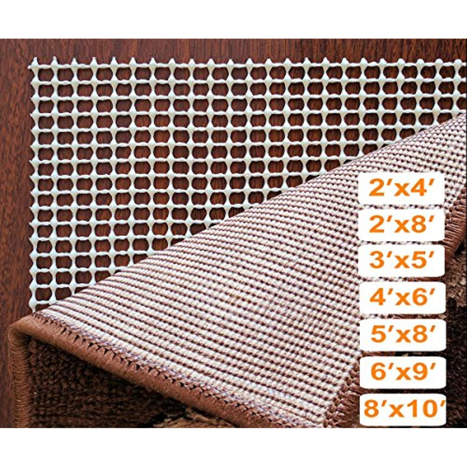Stepbasic Rug Pads Non Slip Padding For Area Rugs Skid Pad Floor Protector