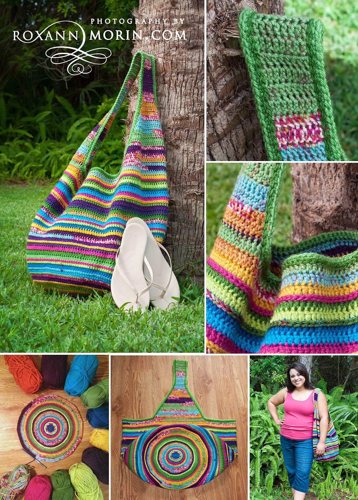 Crochet Bag Pattern | Gehäkelte taschen, Tasche häkeln und Häkeln