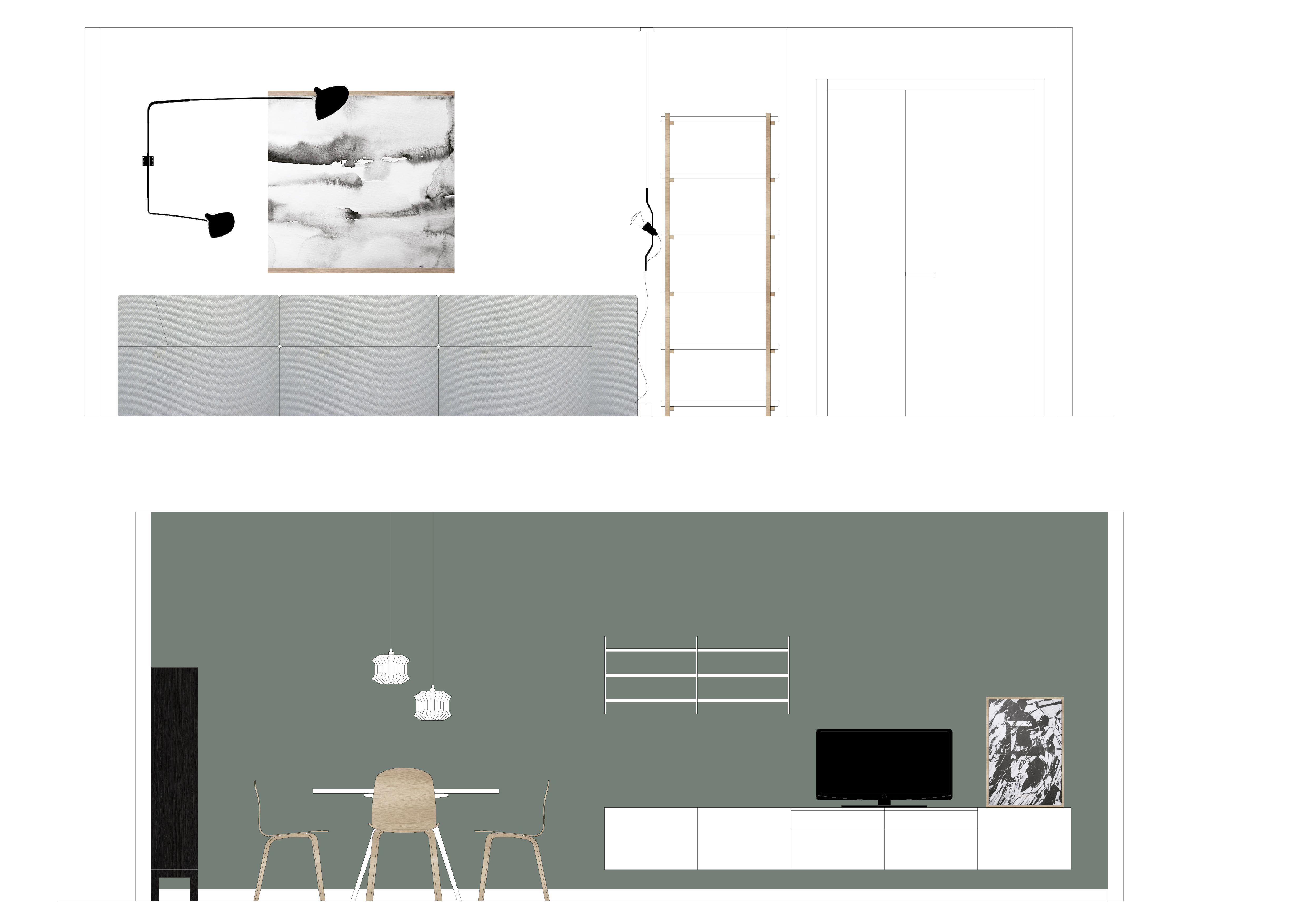 Asesoramiento decoracion salon dise o comedor - Proyecto diseno de interiores ...