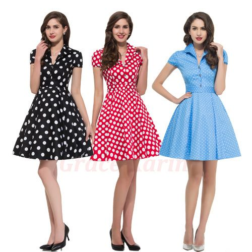 a9ee382c26a47151b1b1e54f0b86b521 womens 50s housewife dress summer style retro pinup vintage 1960s,Womens Clothing 1960s