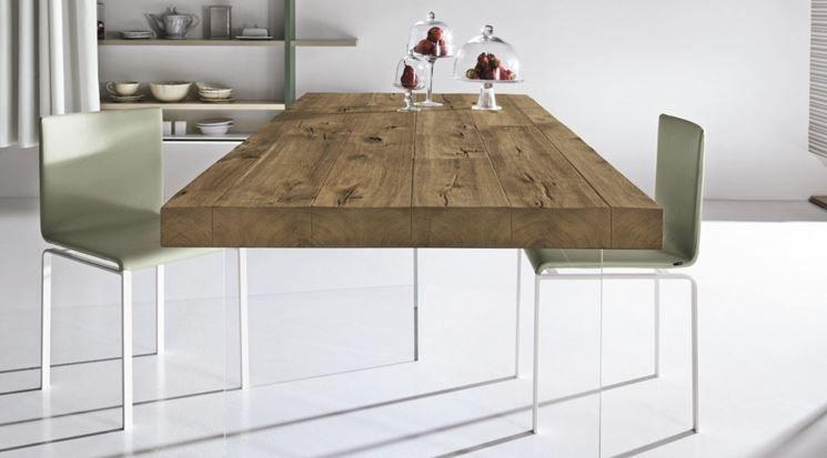 Tavolo design legno | Cavalletti 1 | Table, Dining Table e Dining room