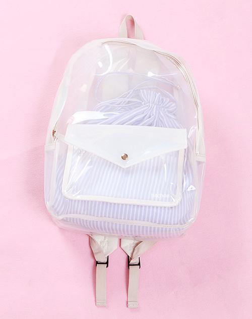 Mara Via Tumblr Bag Cute Fashion Outfit Pastel Pink