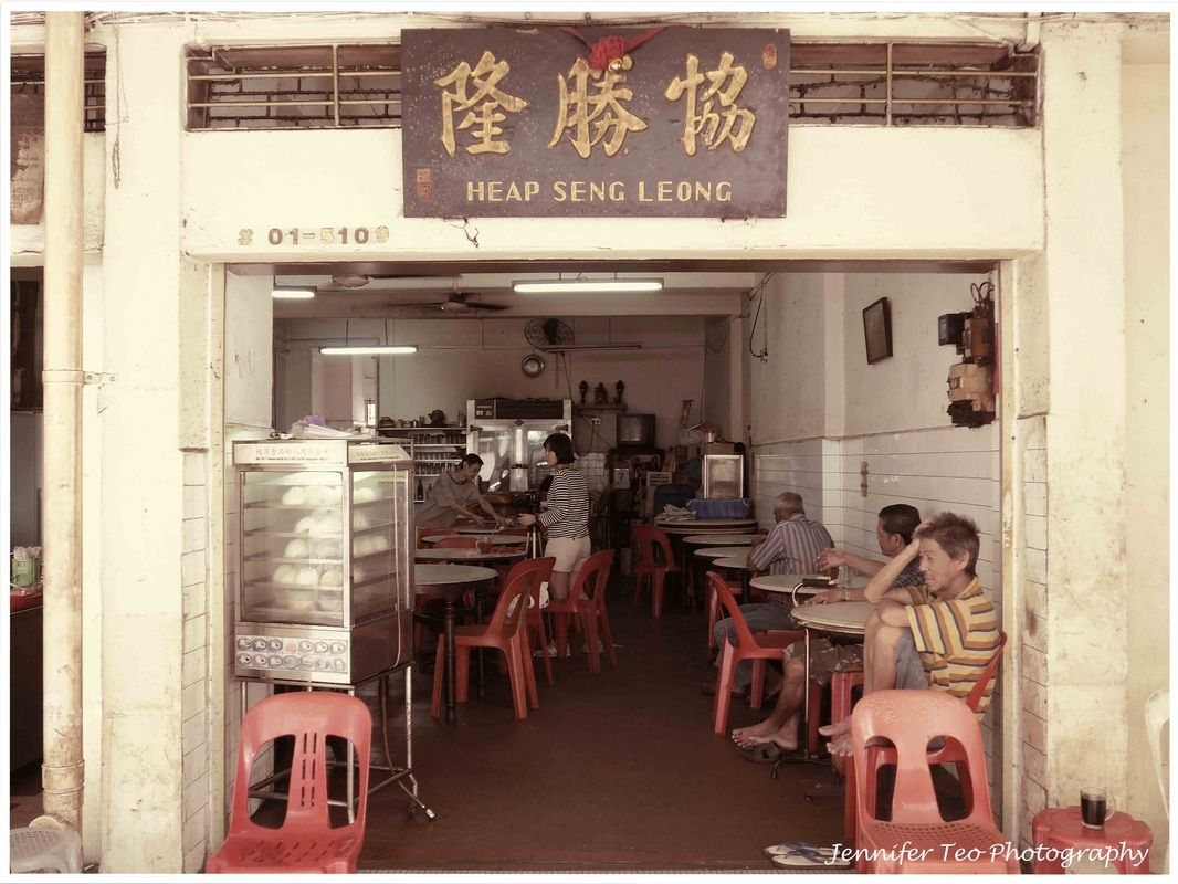 Coffeshop With Bygone Style In Singapore Heap Seng Leong Singapore Photos Coffee History Singapore Malaysia