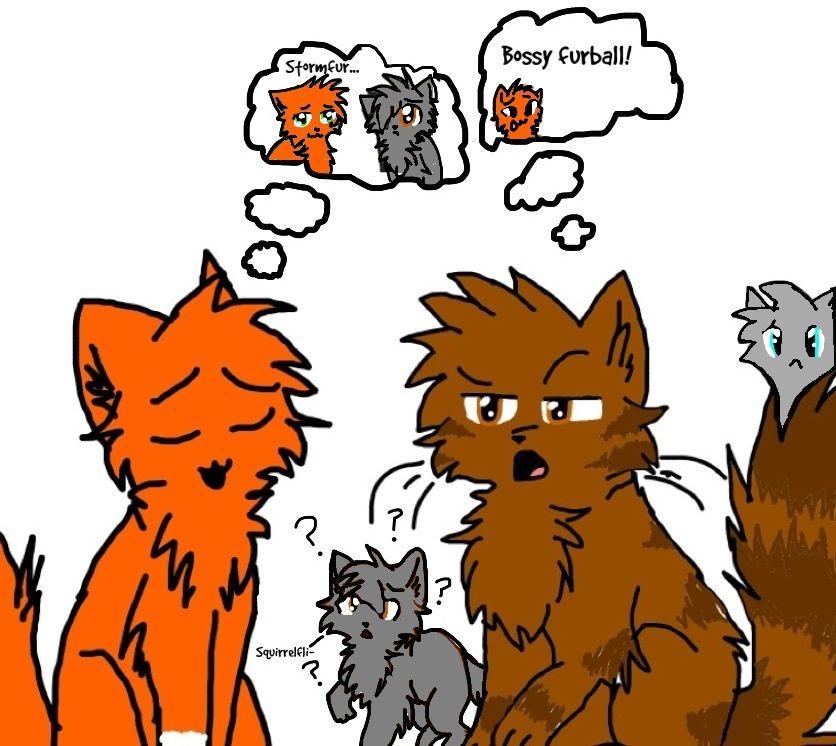 Brambleclaw, Murderer Of Firestar! A Warrior Cats Fanfiction.