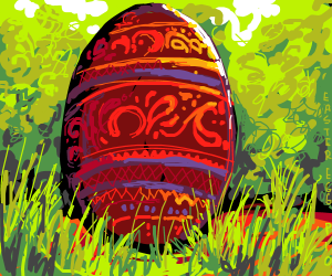 Easter egg by Death by Squeegee on Drawception