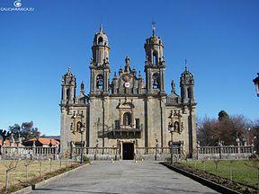 Santuario da nosa se ora dos milagros ba os de molgas ourense luis cer n arquitectura barroco - Banos de molgas ourense ...