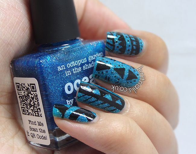 piCture pOlish Ocean & Tribal - http://www.britnails.co.uk/2013/07/picture-polish-ocean-swatches-and-nail.html