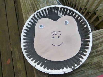 Goodnight Gorilla Craft Preschool Art Goodnight Gorilla