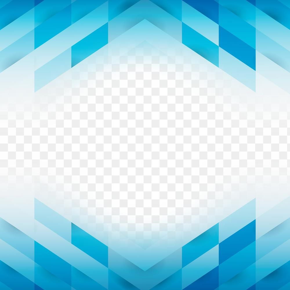 Blue Geometric Patterned Border Design Element Free Image By Rawpixel Com Aew Border Design Design Element Framed Abstract