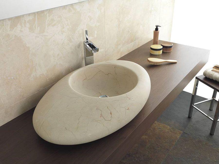 Lavandini Da Bagno In Pietra : 30 modelli di lavabo bagno in pietra da appoggio house hopes